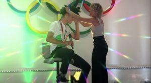 L'alloro di Olimpia per la medaglia d'oro Jonathan Milan festeggiato nella sua Buja
