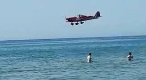 Voli acrobatici a bassa quota sul mare, denunciato il