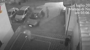 Rapina a Marano fingendosi carabinieri: presa la banda incastrata dal video