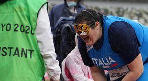 Paralimpiadi, Legnante è argento: l'urlo di «Cannoncino» dopo due ori