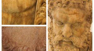 «Abbronzato, con la barba rossiccia e gli occhi scuri: così abbiamo svelato i colori dell'Ercole Farnese»