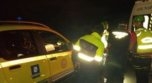 Faito, ciclista 16enne cade in un dirupo frattura alla caviglia, salvato nella notte