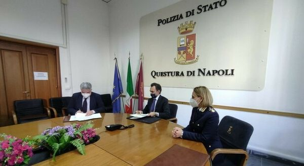 Daspo del questore, firmato il Protocollo Zeus tra la questura e il Cipm Campania
