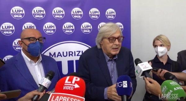 Sgarbi a Milano per Bernardo: «Sala è un uomo di destra, non capisco perché la sinistra lo voti»