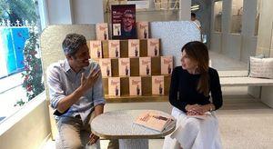 Pif e Mariolina Sattanino presentano «in vetrina» da Faraone Mennella la storia di due vittime della mafia