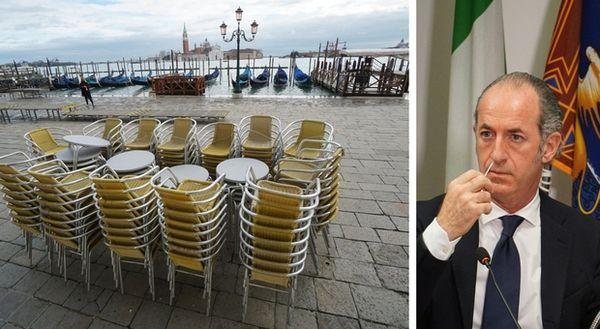 Lockdown, Zaia: «In Veneto 1.500 nuovi casi in 24 ore, i numeri si stanno un po' ingrossando»