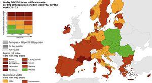 Campania zona rossa: sono sette le regioni d'Italia ad alto rischio nella nuova mappa dell'Europa