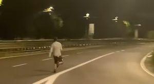 Jogging sull'Asse Mediano: l'ennesima follia dei giovani su TikTok