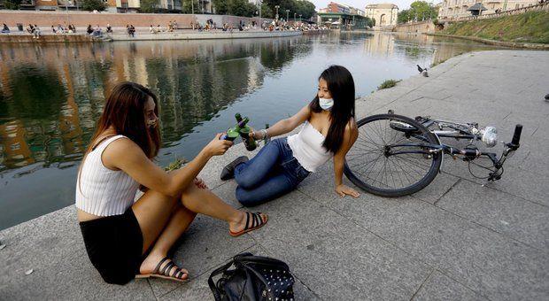 Movida videosorveglianza Modena contingentamenti Firenze Roma oggi vertice
