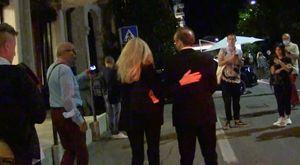 Venezia78, Benigni e il selfie con un fan: «Una foto? È una cosa proibitissima»