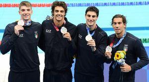 I fantastici quattro del nuoto azzurro riscrivono la storia