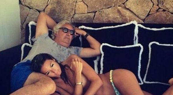 Elisabetta Gregoraci e Benetton? ll (presunto) flirt con l'imprenditore, Flavio Briatore riparte con la Miss