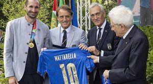 Mattarella, onorificenza di Cavaliere agli Azzurri: Mancini Grande Ufficiale, Chiellini Ufficiale