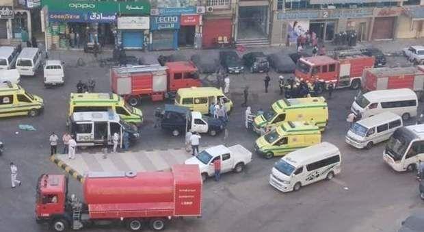 Egitto incendio ospedale Covid Alessandria 7 morti pazienti intossicati