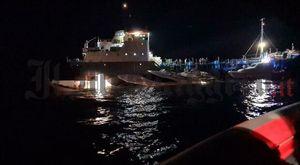 Yacht si scontra con la nave cisterna a Ponza, il salvataggio