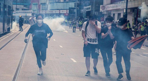 Hong Kong Cina minaccia gli Usa «Contromisure decidono sanzioni»