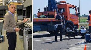 Elio Doro, morto in un incidente in moto l'imprenditore del catering. Grave la moglie