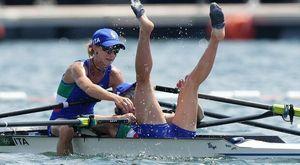 Canottaggio, Rodini-Cesarini medaglia d'oro storica nel doppio pesi leggeri