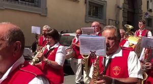 Caprarola, la banda a Palazzo Farnese nel giorno di Sant'Egidio Abate