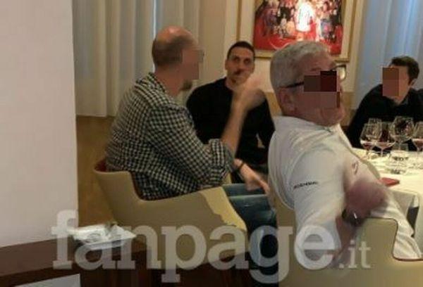 Milano in zona rossa ma Ibrahimovic va al ristrorante