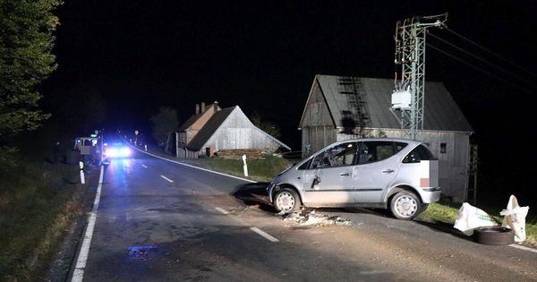 Traktor und Auto kollidieren im Kreis Bayreuth: Beide Fahrer verletzt