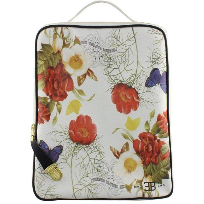 Σακίδια πλάτης με print λουλούδια και πεταλούδες Πάγου