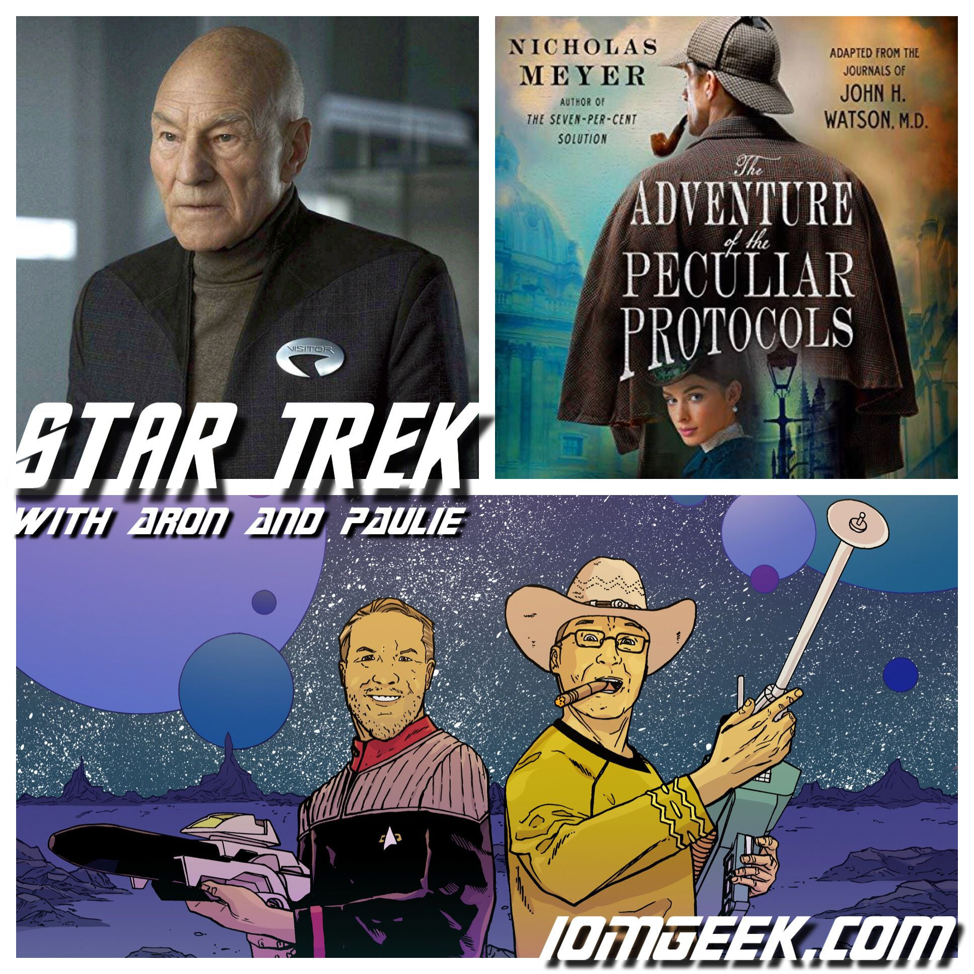 Star Trek: Picard Pre-show and Sherlock Holmes and the Adventure of the Peculiar Protocols