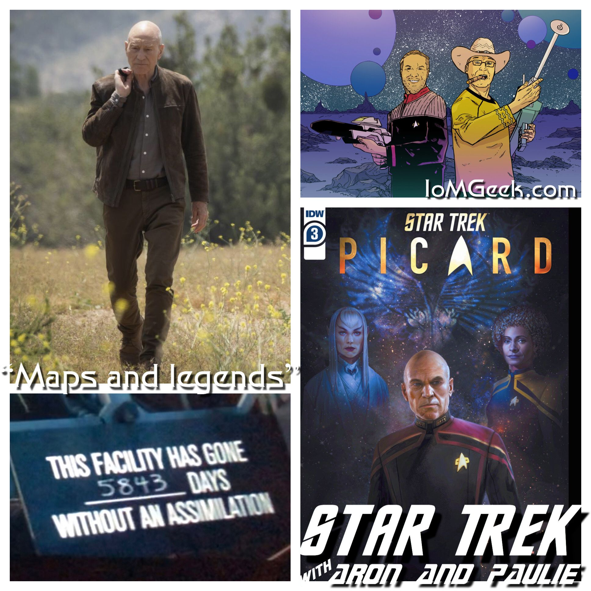 Star Trek Picard – Maps and Legends