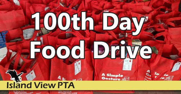 Image for 100th Day Food Drive SUCCESS!
