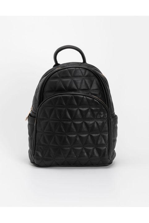 Καπιτονέ backpack - Μαύρο