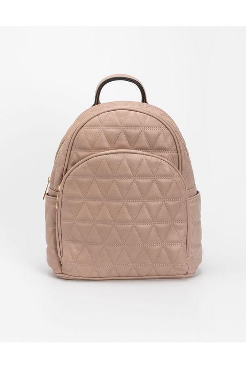 Καπιτονέ backpack - Μπεζ