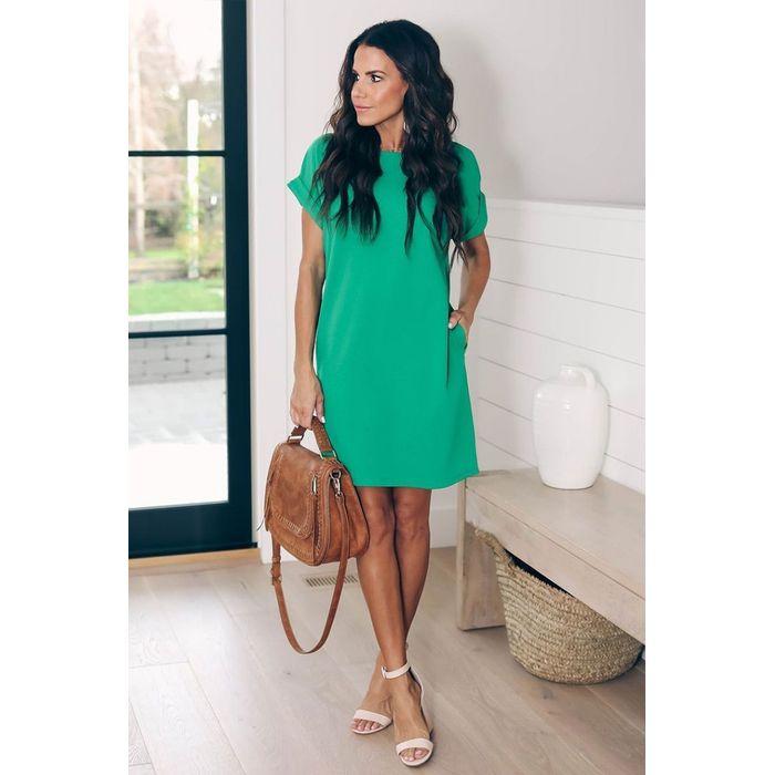 φόρεμα CLAIRE GREEN - 1