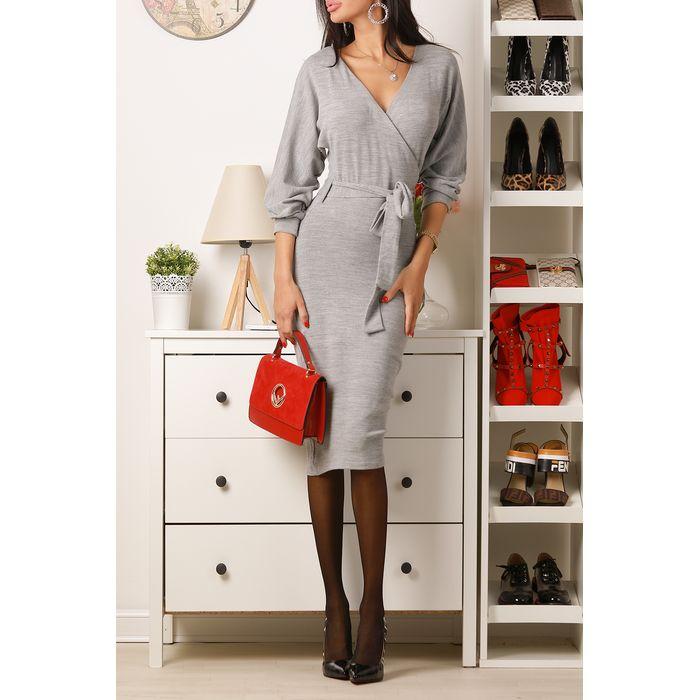 φόρεμα ASUSA GREY - 1