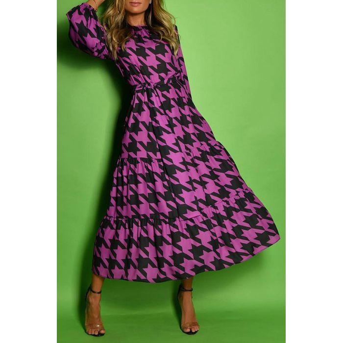 φόρεμα TEZINA PURPLE - 1