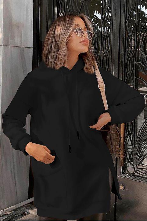 γυναικείο φούτερ ROSNA BLACK - 1