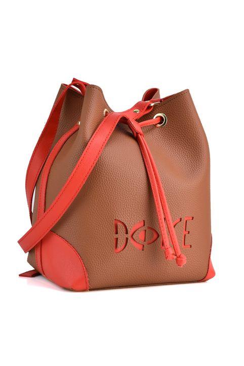 Ταμπα/Κόκκινη τσάντα πουγκί Dolce 218027