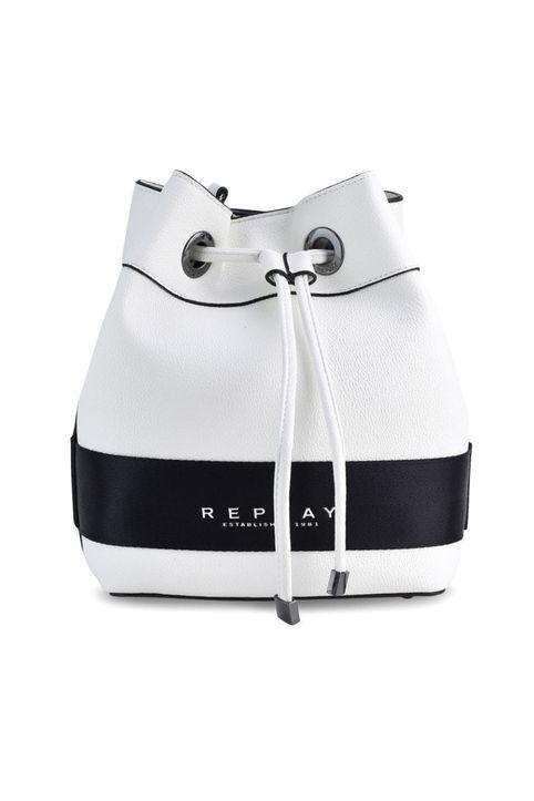 Λευκή τσάντα πουγκι REPLAY FW3029