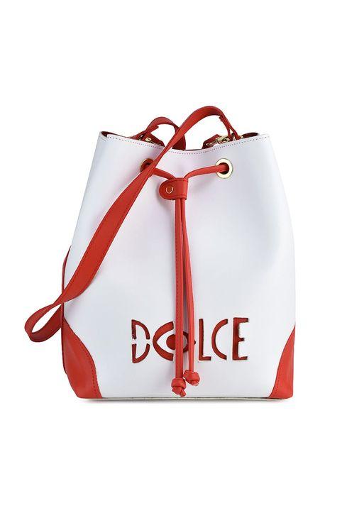 Λευκή τσάντα πουγκί Dolce 218027B