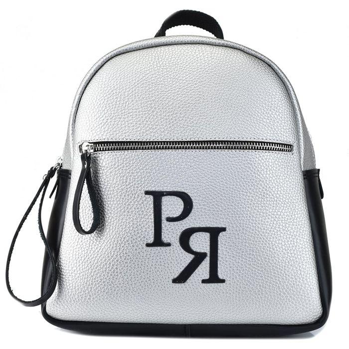 Ασημί σακίδιο Pierro Accessories 90579