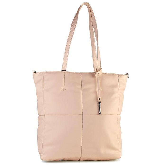 Μπεζ τσάντα ώμου 91038