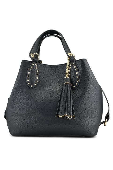 Μαύρη τσάντα πουγκί CK515