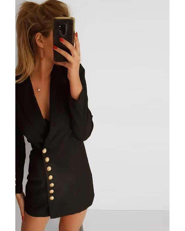 Serano φόρεμα μαύρο