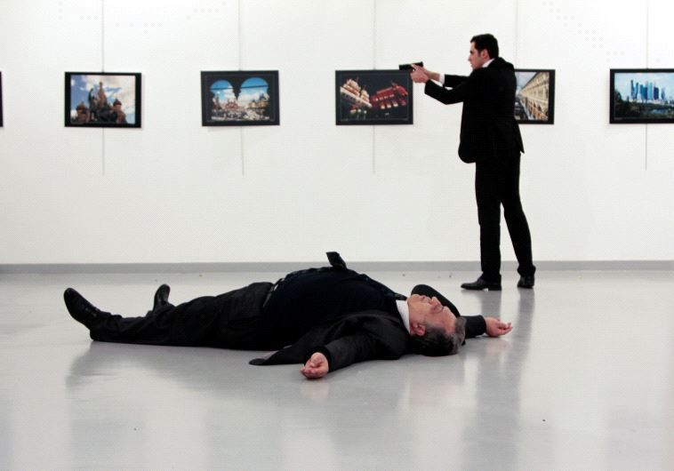 Does the Arab world view the Russian ambassador's assassination as a trigger to a 3rd world war?