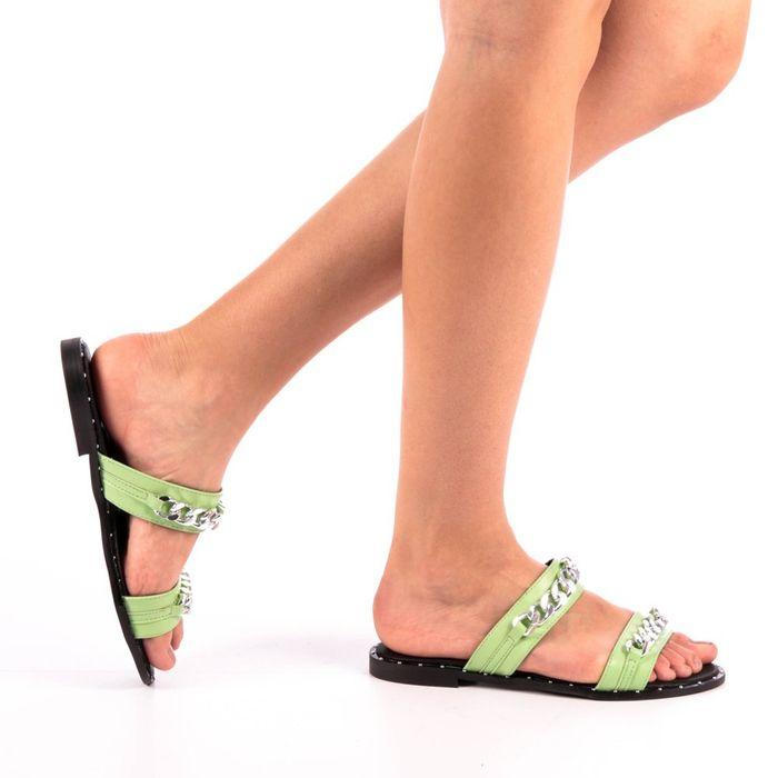 Γυναικείες Παντόφλες Daria πράσινα