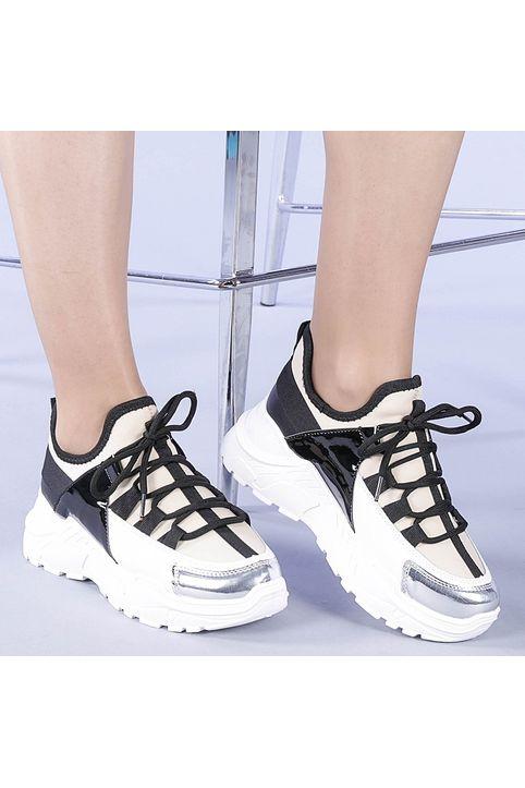 Γυναικεία αθλητικά παπούτσια Vision μπεζ