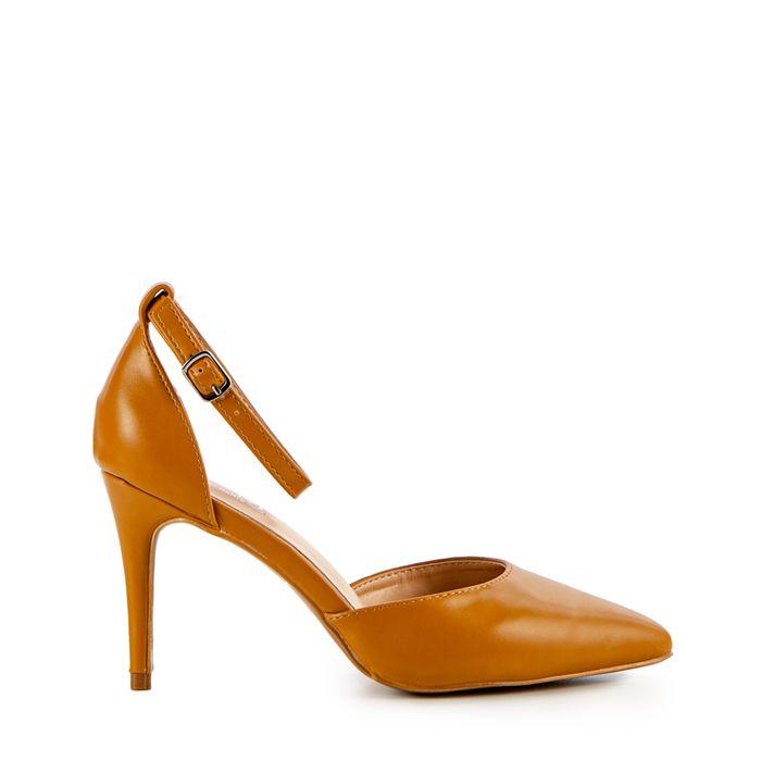 Γυναικεία παπούστια Basil καμελ