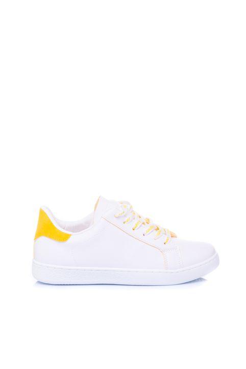 Γυναικεία αθλητικά παπούτσια Augustina κίτρινα