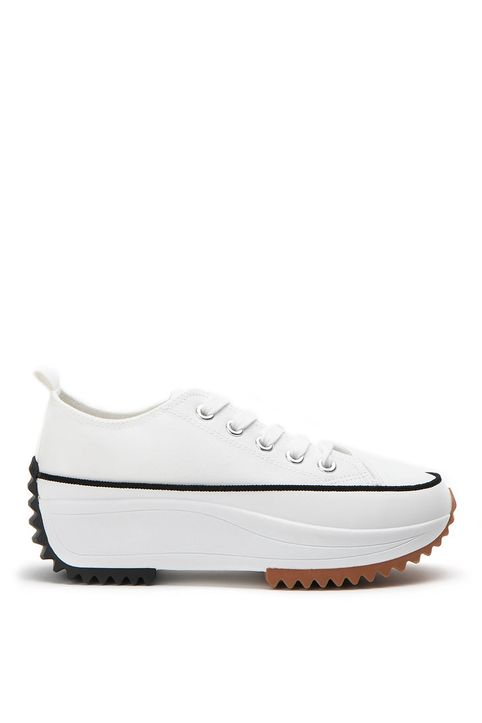 Sneakers Δίπατα Λευκά