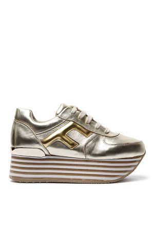 L.A. Woman Gold Leather