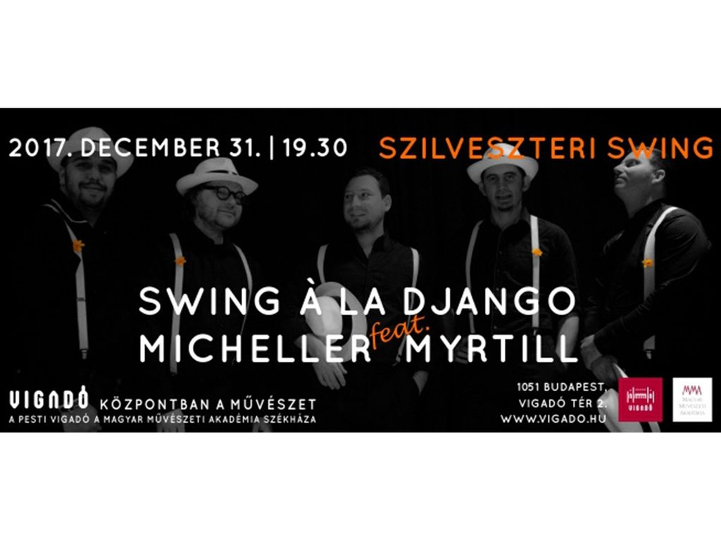 Swing a la Django feat. Micheller Myrtill